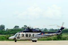Путешествие AgustaWestland AW189 Азии посещая Таиланд стоковая фотография rf