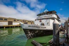 Путешествие Alcatraz Flayer стоковые изображения