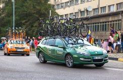 Путешествие de Pologne 2014 задействуя гонки Стоковое Изображение