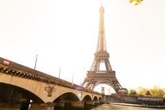 Путешествие Eiffel в Париж Стоковые Фото