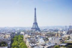 Путешествие Eiffel Стоковое Изображение RF