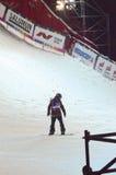 Путешествие GRAND PRIX DE RUSSIE сноуборда мира Стоковая Фотография RF