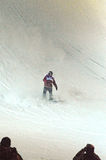 Путешествие GRAND PRIX DE RUSSIE сноуборда мира Стоковые Фотографии RF