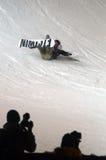 Путешествие GRAND PRIX DE RUSSIE сноуборда мира Стоковые Изображения