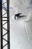 Путешествие GRAND PRIX DE RUSSIE сноуборда мира Стоковое фото RF