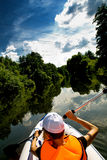 Путешествие Kayak стоковые фото