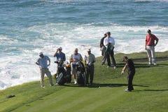 путешествие pga камушка гольфа 2006 пляжей Стоковые Фото