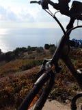 Путешествие Podobuce велосипеда, Хорватия стоковые изображения rf
