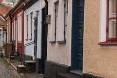 Путешествие Simrishamn старого городка Стоковые Изображения