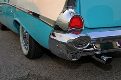 Путешествия автомобиля выставок автомобиля знаменитости классические винтажные Стоковые Фото