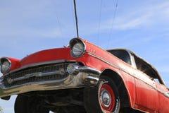 Путешествия автомобиля выставок автомобиля знаменитости классические винтажные Стоковые Изображения