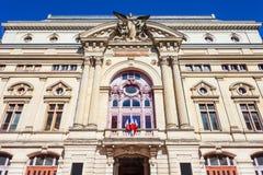 Путешествия большой муниципальный театр, Франция стоковые фото