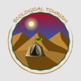 Путешествия и оценивают красоту природы Стоковые Фотографии RF