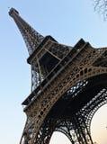 Путешествия Eiffel смотреть от вниз стоковые изображения