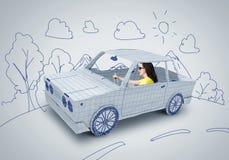 Путешествовать автомобиля Стоковое Изображение RF