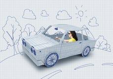 Путешествовать автомобиля Стоковые Фото