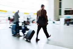 Путешествовать бизнесмены Стоковая Фотография RF