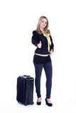 Путешествовать бизнес-леди Стоковые Фотографии RF