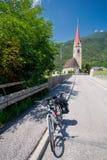 Путешествовать велосипед в Италии стоковые фото