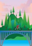 Путешествовать велосипеда Стоковая Фотография