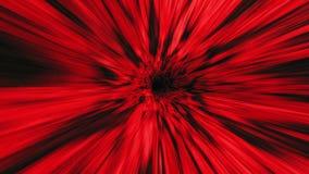 Путешествовать вниз с гипер быстрого тоннеля иллюстрация вектора
