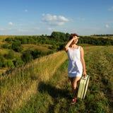 Путешествовать женщины Стоковые Изображения RF