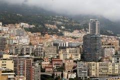 Путешествовать к Монако - французскому - лазурное побережье стоковые изображения