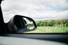 Путешествовать к сезон лета автомобиля Стоковое фото RF