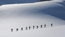 путешествовать лыжи стоковые изображения