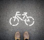 Путешествовать на велосипеде Стоковые Изображения RF