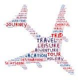 Путешествовать самолетом по всему миру стоковые фотографии rf