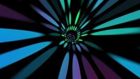 Путешествовать через космос и время через вортекс иллюстрация вектора