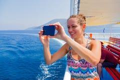 Путешествовать через моря и океаны Стоковые Изображения RF