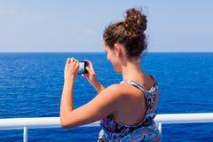 Путешествовать через моря и океаны Стоковые Изображения