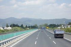 Путешествовать через провинцию Чжэцзяна и Аньхоя высоким путем Стоковые Фотографии RF