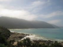 Путешествуйте большая дорога океана Стоковое Изображение RF
