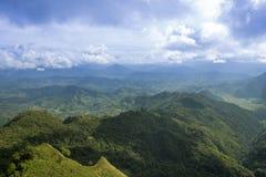 Путешествуйте хи Dao Phu на перемещении Таиланда/горы и неба изумительном Стоковое Изображение RF