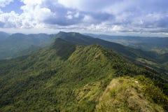 Путешествуйте хи Dao Phu на перемещении Таиланда/горы и неба изумительном Стоковые Изображения RF