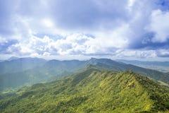 Путешествуйте хи Dao Phu на перемещении Таиланда/горы и неба изумительном Стоковая Фотография RF