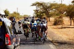 Путешествуйте du Сенегал 2017 от Дакара к исламу Mansouri победителя этапов Дакара 8 Стоковое фото RF