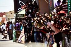 Путешествуйте du Сенегал 2017 от Дакара к исламу Mansouri победителя этапов Дакара 8 Стоковое Фото