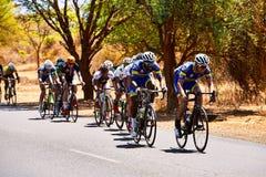 Путешествуйте du Сенегал 2017 от Дакара к исламу Mansouri победителя этапов Дакара 8 Стоковая Фотография RF