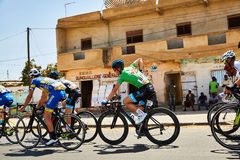 Путешествуйте du Сенегал 2017 от Дакара к исламу Mansouri победителя этапов Дакара 8 Стоковое Изображение RF