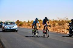 Путешествуйте du Сенегал 2017 от Дакара к исламу Mansouri победителя этапов Дакара 8 Стоковое Изображение