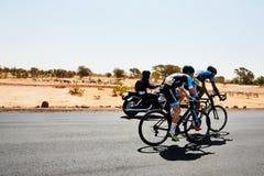 Путешествуйте du Сенегал 2017 от Дакара к исламу Mansouri победителя этапов Дакара 8 Стоковая Фотография