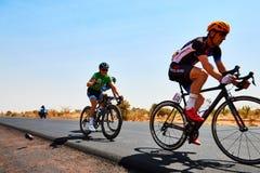 Путешествуйте du Сенегал 2017 от Дакара к исламу Mansouri победителя этапов Дакара 8 Стоковые Фото