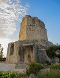Путешествуйте Magne, старая римская башня над Nimes, Францией стоковое фото