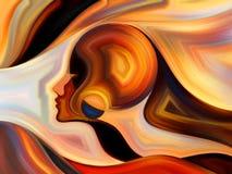 Пути внутренней краски Стоковая Фотография RF