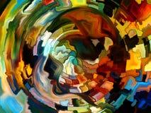 Пути внутренней краски Стоковая Фотография