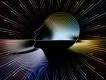 Пути геометрии души Стоковое Изображение